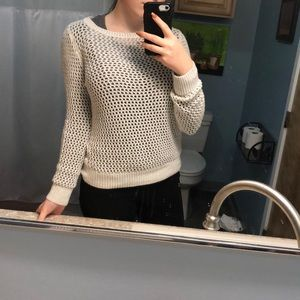 H&M shimmery sweater
